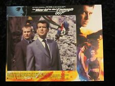 THE WORLD IS NOT ENOUGH lobby card #7 PIERCE BROSNAN, JAMES BOND 007