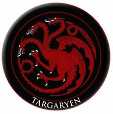 "Game of Thrones 3"" Embroidered Patch Targaryen Fire and blood Red dragon crest"