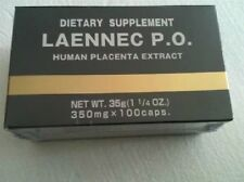 Japan JBP Laennec P.O.  Supplement Box of 100 caps, Authentic #soal