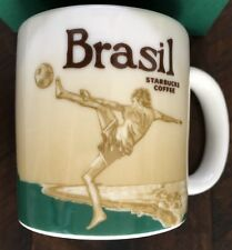 BRASIL STARBUCKS Global Icon DEMITASSE 2012 Soccer Coffee Cup New Authentic