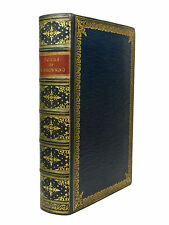 The Poems of Robert Browning, 1919, Fine Morocco Binding by Riviere