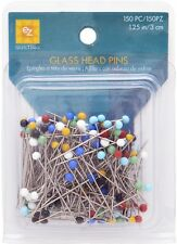 EZ Glasshead Pins. Sewing Quilting Pins 66 packs of 150 pcs