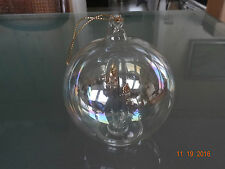 Alte Christbaumkugel Weihnachtskugel Weihnachtsdeko 2Kerze Glaskugel