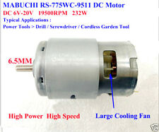 MABUCHI RS-775WC DC6V-20V 12V High Power High Speed Motor For Drill Garden Tools