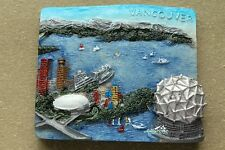 Canada Vancouver Multi-Scenics Tourist Travel Souvenir 3D Resin Fridge Magnet