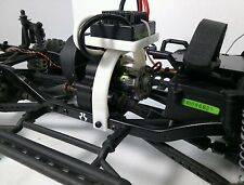 Axial scx10 honcho speed control mount black abs