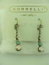 Sorrelli  Rose Water  Earrings ECQ14AGROW Antique gold tone