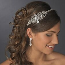 Vintage Side Rhinestone Bridal Headpiece Headband