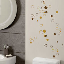 58 Bubbles Wall Bathroom Window Shower Tile Decorations Stickers Kids Decal 312