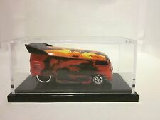 HOT WHEELS LIBERTY PROMOTIONS - FIRE VW DRAG BUS - 59 of 1300 - LOW NUMBER