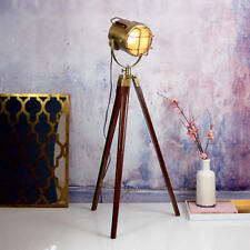 Industrial Furniture LED Tripod floor lamp for Lighting home & Office ANTIQUE