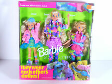 NIB BARBIE DOLL 1991 SHARIN' SISTERS STACIS SKIPPER BARBIE