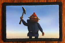 Yukon Cornelius Morale Patch Rudolph Christmas Pick Abominable Snowman Bumbles
