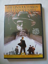 THE UNTOUCHABLES  GLI INTOCCABILI De Niro Costner Connery Garcia   DVD