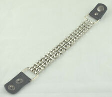 "Bracelet-bicycle chain-8.5""~9.5""-2 line"