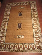 ANTIQUE ART DECO EGYPTIAN  WOOL WOVEN RUG