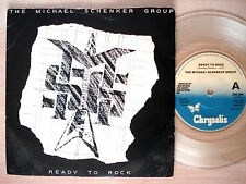 """The Michael Schenker Group Ready To Rock CLEAR UK 7"""" UFO Chrysalis 1981 NM"""