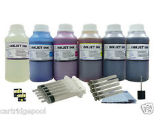 6X250ml/s Refill ink kit for Kodak 10 :EasyShare 5100 5300 5500 printer + 2Chips