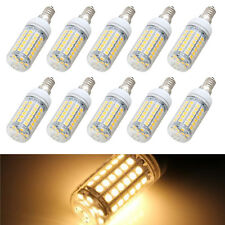 10x E14 8W 69 LED 5050 SMD Lampe Leuchtmittel Spot Strahler Birne Warmweiss GY