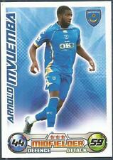 TOPPS MATCH ATTAX 2008-09-PORTSMOUTH-DR CONGO-ARNOLD MVUEMBA