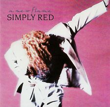 SIMPLY RED : A NEW FLAME / CD (WEA RECORDS 1989) - TOP-ZUSTAND