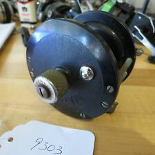 Vintage Penn 85 pat. D fishing reel with vintage tension knob attachment (#9303)