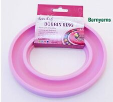 Sew Mate Machine Bobbin Storage Ring for Storing Machine Bobbins PINK
