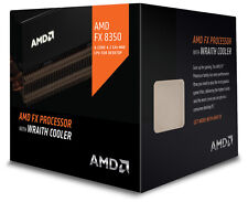 AMD FX 8350 8-Core Unlocked BLACK Edition CPU w/ WRAITH COOLER FD8350FRHKHBX