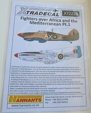 Xtradecal 1/72 X72228 RAF + Commonwealth Mediterranean Fighters Set 1