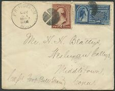 #210 & #E1 ON COVER PRINCETON, NJ TO MIDDLETOWN, CT CV $225 BS1363