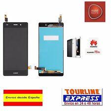 PANTALLA COMPLETA LCD DISPLAY + TACTIL PARA HUAWEI ASCEND P8 LITE COLOR NEGRO