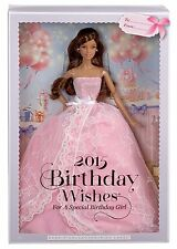 BARBIE 2015 BIRTHDAY WISHES DOLL BLACK HAIR CHF93 LATINA HISPANIC BRUNETTE *NEW*