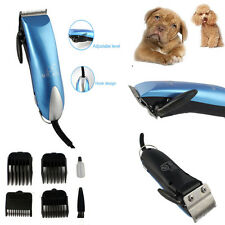Low-noise Electric Animal Pet Dog Cat Hair Razor Grooming Clipper Trimmer US
