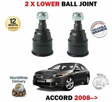 FOR HONDA ACCORD 2008- NEW LEFT + RIGHT 2x LOWER SUSPENSION WISHBONE BALL JOINTS