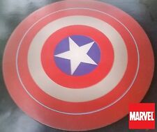 "MARVEL COMICS Captain America Shield collectible ! COMPUTER MOUSE PAD 8"" round"