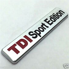 TDI SPORT EDITION VW  Badge emblem sticker Skoda Golf GT Passat Caddy Bora Polo