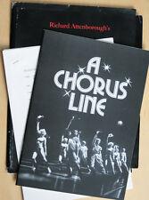 A Chorus Line Presseheft Michael Douglas Audrey Landers Michael Blevins Borges