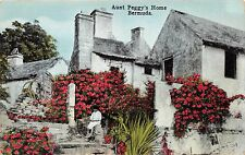 BERMUDA~AUNT PEGGY'S HOME~YANKEE STORE #66 PUBL POSTCARD 1910s