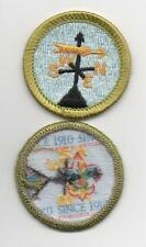 "Weather Merit Badge, Type L, ""Since 1910"" Back (2012-Current), Mint!"