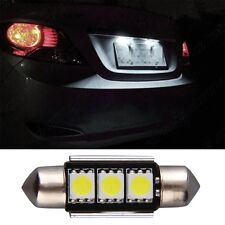 36mm CANBUS Error Free 3 LED 5050 SMD 6418 C5W License Plate Dome Light Bulb F5