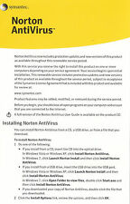 Norton AntiVirus 3PC 1 Year Product Key Card Free Upgrade