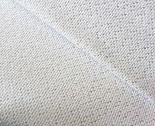 Zweigart white with silver lurex thread 14 count Aida Star 55cm x 50 cm