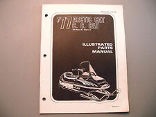 1977 Vintage Arctic Cat Cross Country Cat Parts Manual