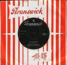 "ROBERT MAXWELL little dipperpeg o' my heart 05913 uk brunswick 7"" CS EX/EX"