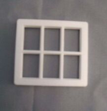 Half Scale 1:24 Dormer  Window 6-pane  Jackson's Miniatures Dollhouse L06