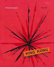 "Nathan Mdledle ""KING KONG"" South African Musical 1961 London Souvenir Program"