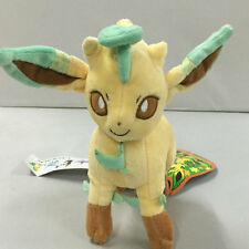 "New pokemon plush stuffed animal Leafeon 7"" doll"