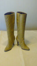VTN PETER KAISER FASHION TAUPE KNEE HIGH LEATHER BOOTS, NEW IN BOX, SIZE 5 1/2 M