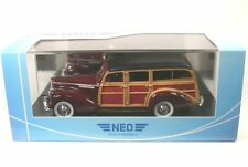 Packard 110 Deluxe Wagon (dark red/wooden optic) 1941