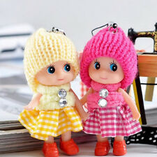 2X Beautiful Girl Soft Lovely Baby Dolls Toy Mini Doll Mobile Phone Accessory DI